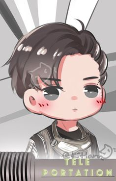 Kai Kpop Exo, Exo Kai, Chanyeol, Exo Cartoon, Kai Arts, Exo Fan Art, Exo Lockscreen, Kim Minseok, Exo Members