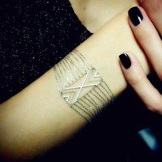 """Joelle Jewellery """"Chain"""" Diamond Bracelet"""