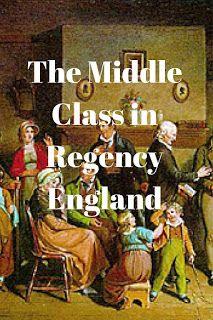 Middle Class in Regency England
