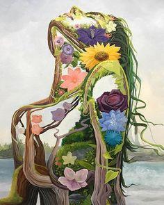 Art And Illustration, Illustrations, Arte Inspo, Posca Art, Hippie Art, Arte Pop, Visionary Art, Psychedelic Art, Surreal Art