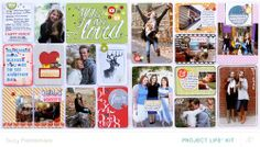 Project Life page inspiration