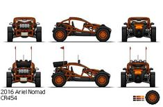 Ariel Nomad Pixelcar by ScottaHemi on DeviantArt - Everything About Off-Road Vehicles Build A Go Kart, Diy Go Kart, Go Kart Buggy, Off Road Buggy, Ariel Nomad, Homemade Go Kart, Terrain Vehicle, Jeep 4x4, Futuristic Cars