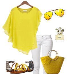 Happy colors...yellow.