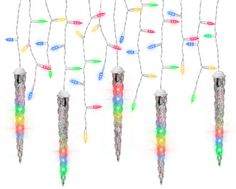 Rope Lights Menards Interesting 60 Led Snowflake Icicle Set At Menards  Christmas Ideas  Pinterest Inspiration Design