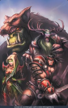 samwise warcraft | Warcraft Comic Cover 1 By Samwise » Галерея » World of ...