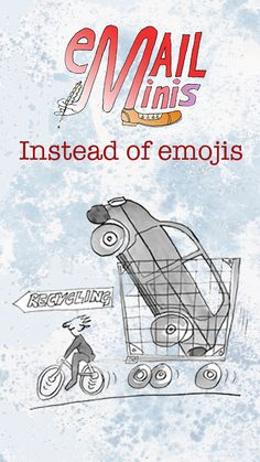 Email•Minis are also a new idea. There are lots of emojis bouncing about on the internet, but the time may have come to think about new ways to send your messages. With more sophisticated, hand-drawn images :-) Click the link to visit the Email•Minis Library and give your messages more fun and more depth than an emoji can. Mini Library, Our Planet, More Fun, Hand Drawn, Things That Bounce, How To Draw Hands, Internet, Messages, Link