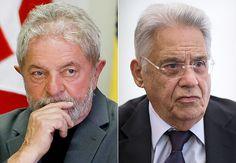 Lula pede socorro à Fernando Henrique. Para quem está se afogando, jacaré é tronco   SINTESE NEWS