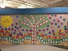 Our 2nd Grade Poet-Tree! A hallway display created from all the great  poetry they have been writing!