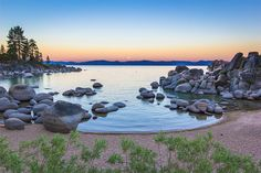 Sand Harbor, Lake Tahoe - See more of the best places to photograph in NV at http://loadedlandscapes.com/nv-photography-locations/  // Photo by Trevor Bexon - https://www.flickr.com/photos/trevorbexon/16147277209/