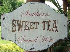 Sweet Tea...