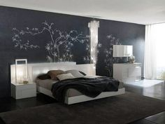 Interior Design Modern Bedroom Color Schemes Charming Teenage Colored Ideas With Grey Color Interior Decor For Your Bedroom Design Ideas Modern Master Bedroom, Master Bedroom Design, Minimalist Bedroom, Contemporary Bedroom, Dream Bedroom, White Bedroom, Bedroom Designs, Modern Bedrooms, Modern Beds