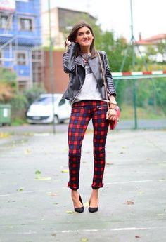 tartan pants style - Google Search