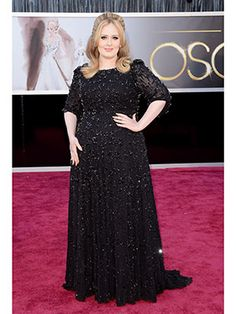 Adele in Jenny Packham #Oscars