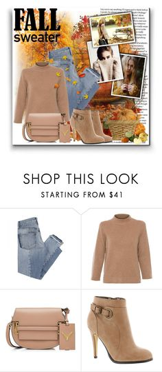"""""""Fall sweater <3"""" by enigma-93 ❤ liked on Polyvore featuring Bastien, Ann Taylor, Mix Nouveau, Repeat, Valentino, Michael Antonio, Home Decorators Collection and fallsweaters"""