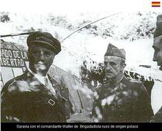 Spain - 1937. - GC - Batalla de Teruel - SARAVIA y general WALTER
