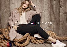 Gigi Hadid In Tommy Hilfiger Fall 2016 Ad Campaign