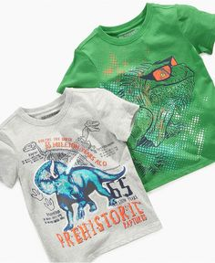 Greendog Kids Shirt, Little Boys Graphic Tee - Kids - Macy's