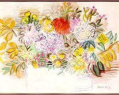 walter sickert flowers | Bouquet of flowers - Raoul Dufy