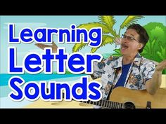 This phonics song teaches children the alphabet and the beginning letter sounds. Kids learn phonics and letter recognition while singing and having fun. Alphabet Sounds Song, Letter Sound Song, Alphabet Song For Kids, Abc Sounds, Phonics For Kids, Alphabet Songs, Alphabet Phonics, Math Songs, Phonics Song