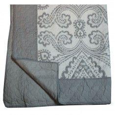 Candelabra Home Damask Printed Quilt