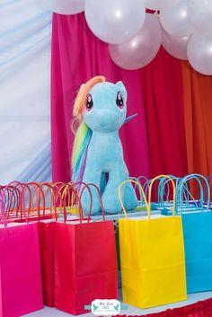 Rainbow Dash My Little Pony Birthday Party Ideas | Photo 2 of 31