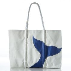 Whale Tail Tote