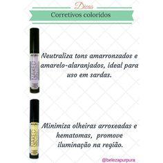 #Dica rápida: atenção em qual cor de corretivo usar para uma pele perfeita ❤  https://www.instagram.com/belezapurpura/