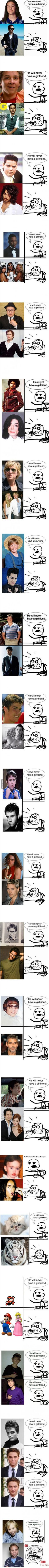 He will never have a girlfriend: Ultimate Edition