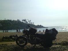 15 Places In India You Absolutely Must Explore On A Motorcycle  14. Kovalam Beach, Trivandrum   The water here is just so blue. It will invigorate anyone who looks upon it. If not for the blue, then just take your motorcycle  to Kovalam for a lovely photo.