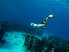 Mermaid Melissa Explores Sunken Statues Of The Deep Ocean http://www.mermaidmelissa.com/uncategorized/mermaid-melissa-explores-sunken-statues-of-the-deep-ocean/