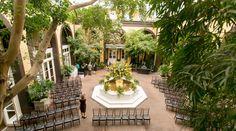 Courtyard view! Hotel Mazarin  Upbeat Southern Garden Fête | New Orleans, LA