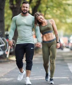 Fitness Inspired Couple. Woooow