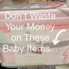Don't Waste Your Money on These Baby Items - Parenting the Principal