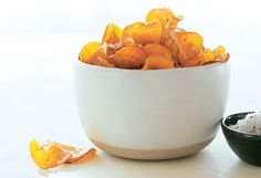 Sea Salt and Rosemary Sweet Potato Chips