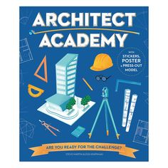 Architect Academy gives kids the know-how to plan and draw all sorts of structures, from bridges and schools, to parks and pyramids.