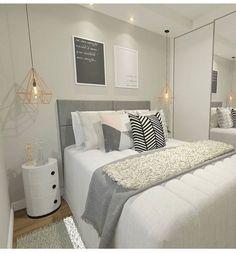 home decor inspo Small Room Bedroom, Bedroom Colors, Home Decor Bedroom, Bedroom Simple, Teen Bedroom Designs, Master Bedroom Design, Cute Room Decor, Home Design Decor, Design Ideas