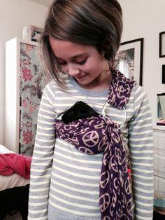 Pet carrier guinea pig hamster adjustable by BangBang714 on Etsy, $15.00