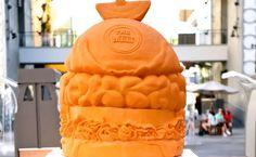 Escultura em cheddar entra para Guinness - http://superchefs.com.br/escultura-em-cheddar/ - #Cheddar, #Escultura, #Guinness, #Noticias