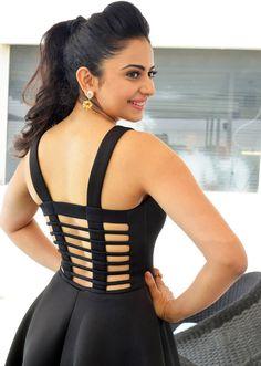 Rakul Preet Singh Images In Back Dress At Nannaku Prematho - Rakul Preet Singh