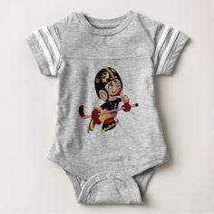 #cute #baby #bodysuits - #HOCKEY PLAYER Baby Football Bodysuit