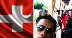 La Selección Peruana llegó a suiza donde jugará este martes ante la selección local. May 31, 2014
