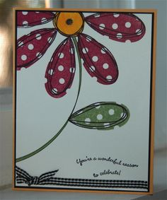 anotherpetal by hockeygirl - Cards and Paper Crafts at Splitcoaststampers