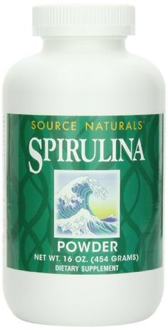 Source Naturals Spirulina Powder, 16 Ounce ** Details can be found by clicking on the image.