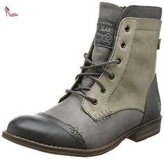 Mustang 1157-523, Bottes Classiques Femme, Gris (202 Dunkelgrau/Grau), 39 EU - Chaussures mustang (*Partner-Link)