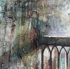 Cornerstone close up, mixed media - low relief aspect Mixed Media Canvas, Mixed Media Art, Happy Paintings, Art Paintings, Landscape Paintings, Art Alevel, Building Art, A Level Art, Architectural Features