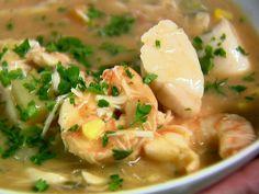 Seafood Chowder by Ina Garten.