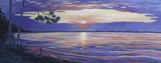 "Sunrise/Sunset, 30x75"" Oil on Canvas"