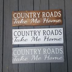 Country Roads Take Me Home, Country Home Decor, Country Wood Signs, Wood Signs For Home, Barn Wood Signs, Farm Signs, Diy Wood Signs, Country Farmhouse Decor, Home Decor Signs, Rustic Signs, Country Wood Crafts