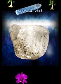 Free-form quartz with chlorite inclusions www.gardencrystals.com