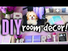 DIY Room Decor Ideas For Teens! Cute, Cheap & Easy! - YouTube